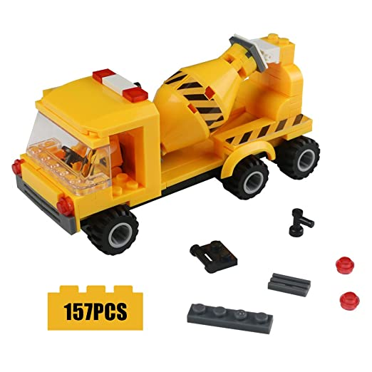 Amazon – Construction Vehicles Set Car Building Blocks 301pc Set