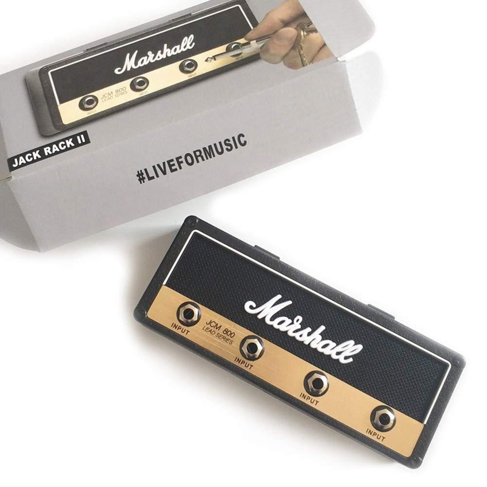 Guitarra Vintage Colgador Llaves Almacenamiento 4 Accesorios ColorfulLaVie Llaves Moda Habitaci/ón Decoracion