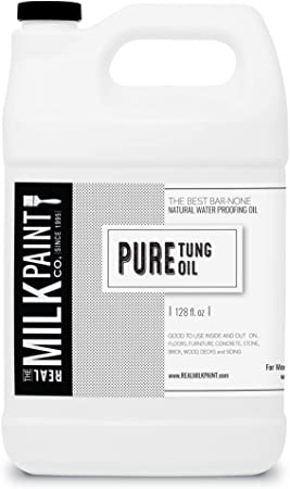 Real Milk Paint Pure Tung Oil Gallon