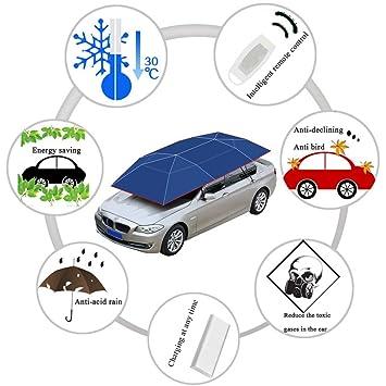 Carpa Para Techo De Automóvil Automática Paño Para Paraguas Anti-UV Waterproof Portátil Intelligent Fold