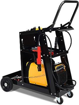 Welder Welding Cart Universal Storage for Tanks Plasma Cutter MIG TIG ARC