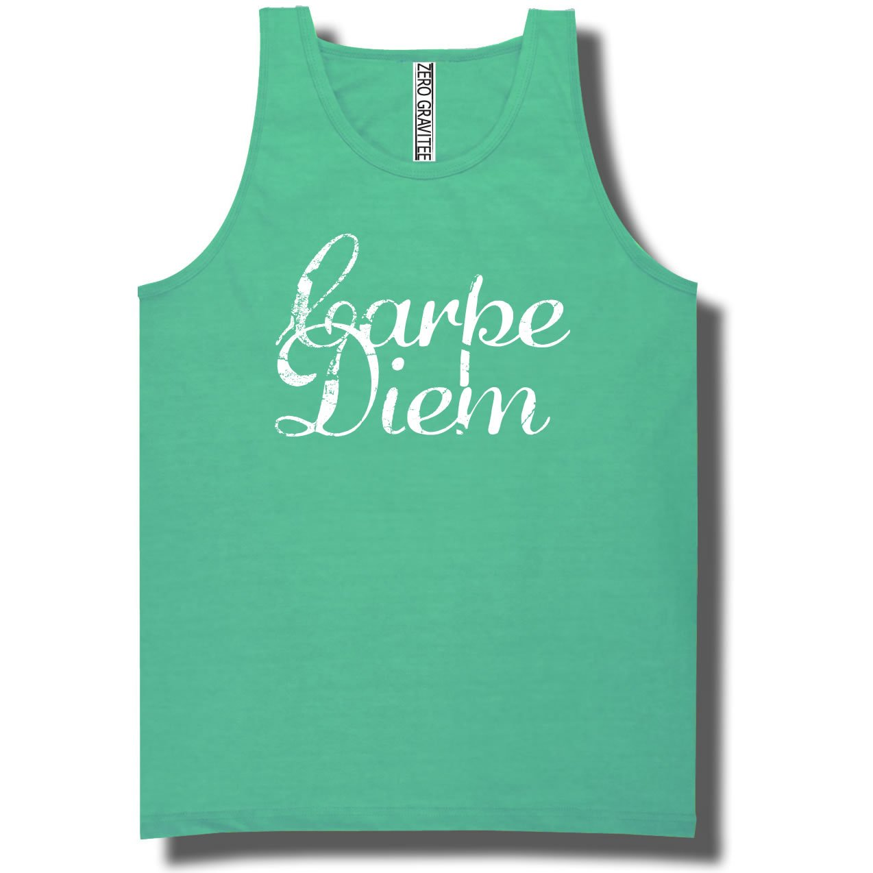 YOUTH Carpe Diem Pigment Dyed Ringspun Tank Tops in 12 colors