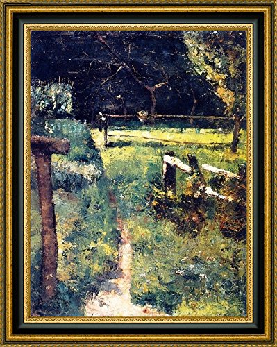 Amazon Com Gargenlichtung Am Zaun By Lesser Ury 12 X 15 Framed
