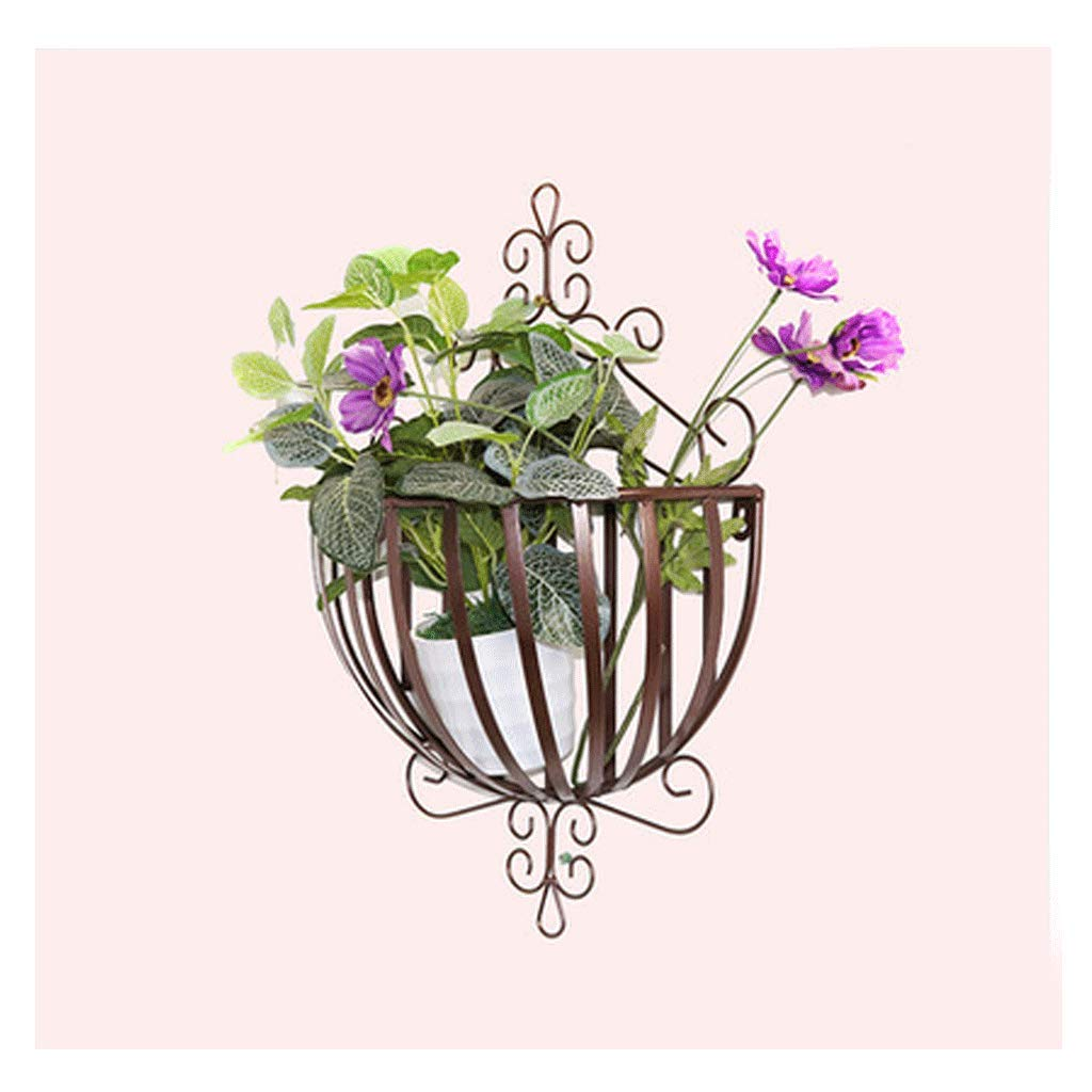 prodotto di qualità Cremagliere del fiore Stand per per per Piante da Parete in Ferro Battuto Supporto per Fiori da Parete per Esterni Giardino per Balconi Stand per Piante da Parete  migliore offerta