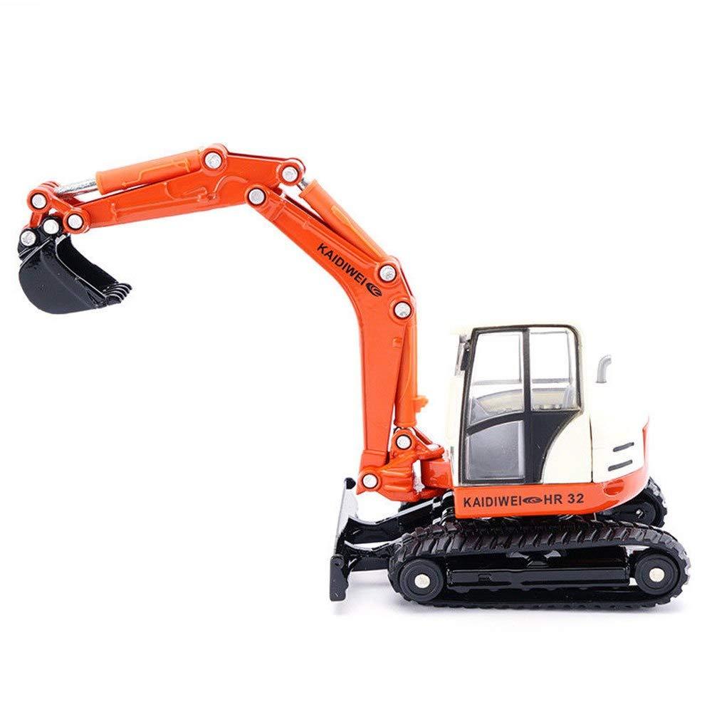 Generic Excavator Digger Dump Mixer Construction Vehicle Work Truck Car Model Kids Toys 1