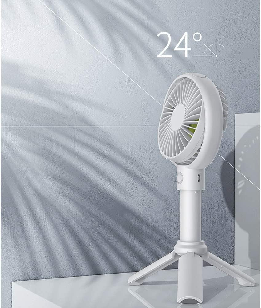 Color : B BLWX Mini Fan Rechargeable Handheld Wind Cold Wind USB Small Fan Portable Portable Silent Student Portable Portable Fan Cute Office Dormitory Desktop Fan Handheld Fan