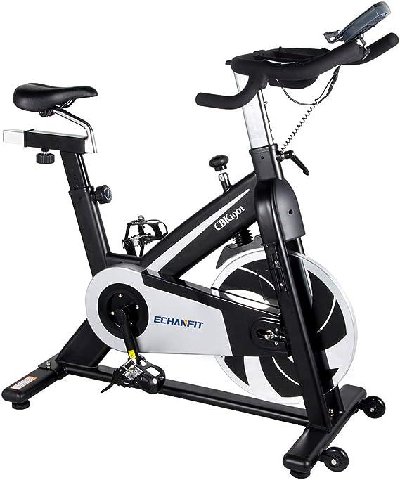 AURORAELIGHT Bicicleta estática para Interiores con Soporte para ...