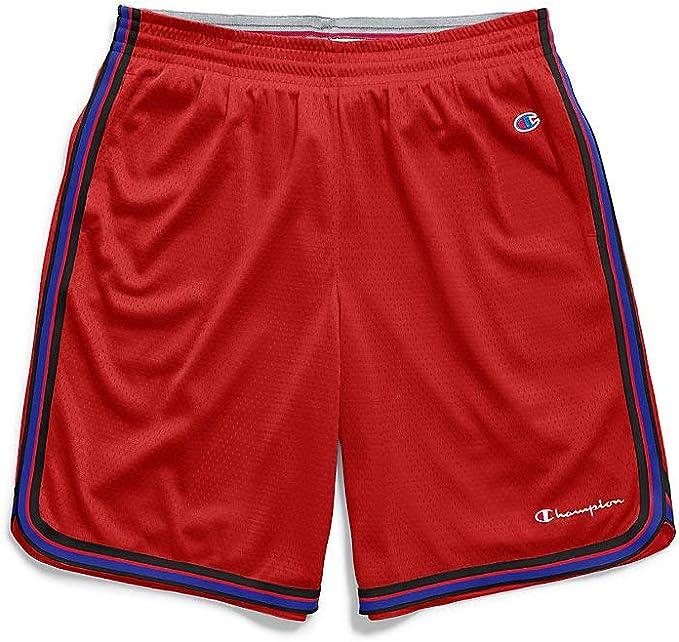Men's Champion Basketball shorts White//Surf blue MEDIUM