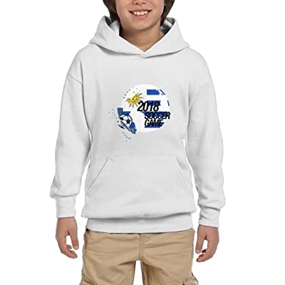 2018 Soccer Game Uruguay Youth Pullover Hoodies Hip Hop Pockets Sweatsuit