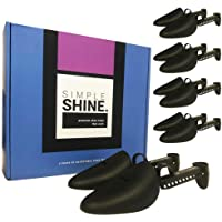 5 pares de árboles de zapatos | 10 zapatos de longitud ajustable de alta calidad | Forma de zapatos de dedo del pie y…
