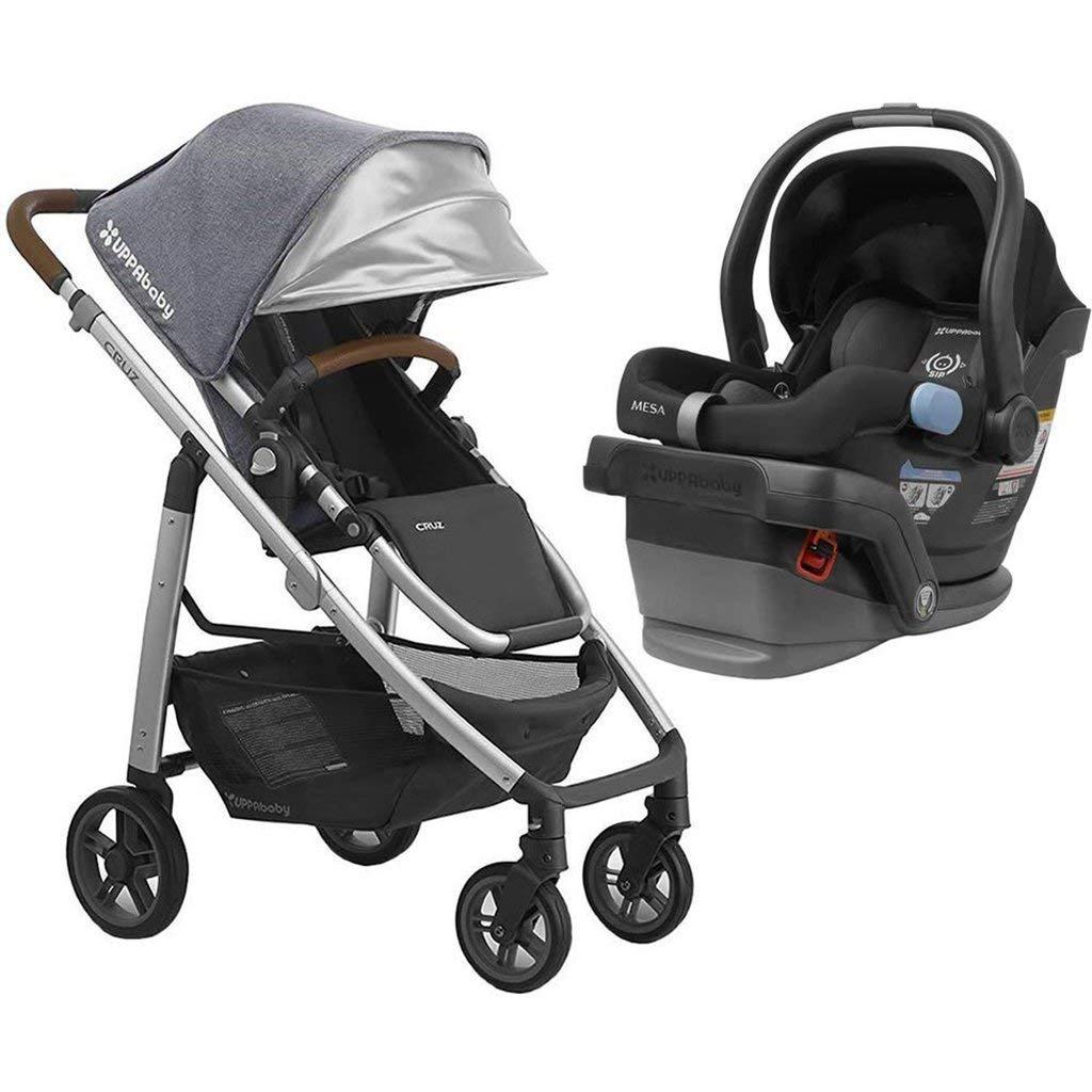 UPPAbaby Full-Size Cruz Toddler Baby Stroller MESA Car Seat Bundle Gregory Jake