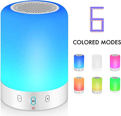 Bluetooth LED Speaker Portable MP3 Player Wireless Stereo Audio Speakers Gifts
