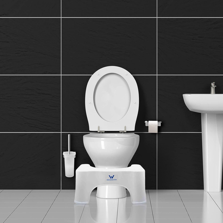 Marche Pied Toilettes WEISSENSTEIN Tabouret physiologique de Toilette