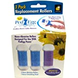 PedEgg Power Replacement Rollers by BulbHead pack of 3
