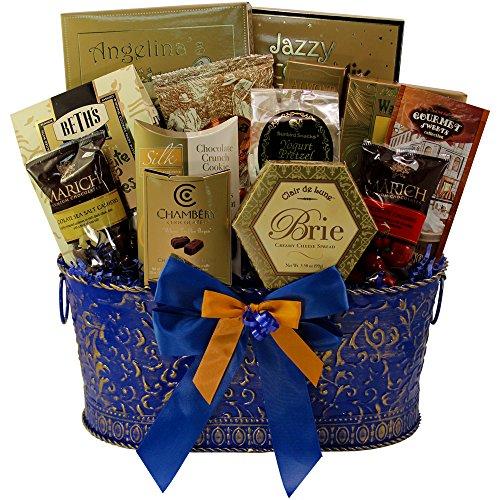 Blue Chocolate Hamper (True Blue Gourmet Food Gift Basket (Chocolate Option))