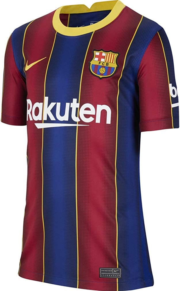 Nike Barcelona Home Youth Jersey 20-21