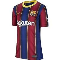 NIKE FC Barcelona Temporada 2020/21 - FCB Y Nk BRT Stad JSY SS Hmcd4500-456 Camiseta Primera Equipación Niños