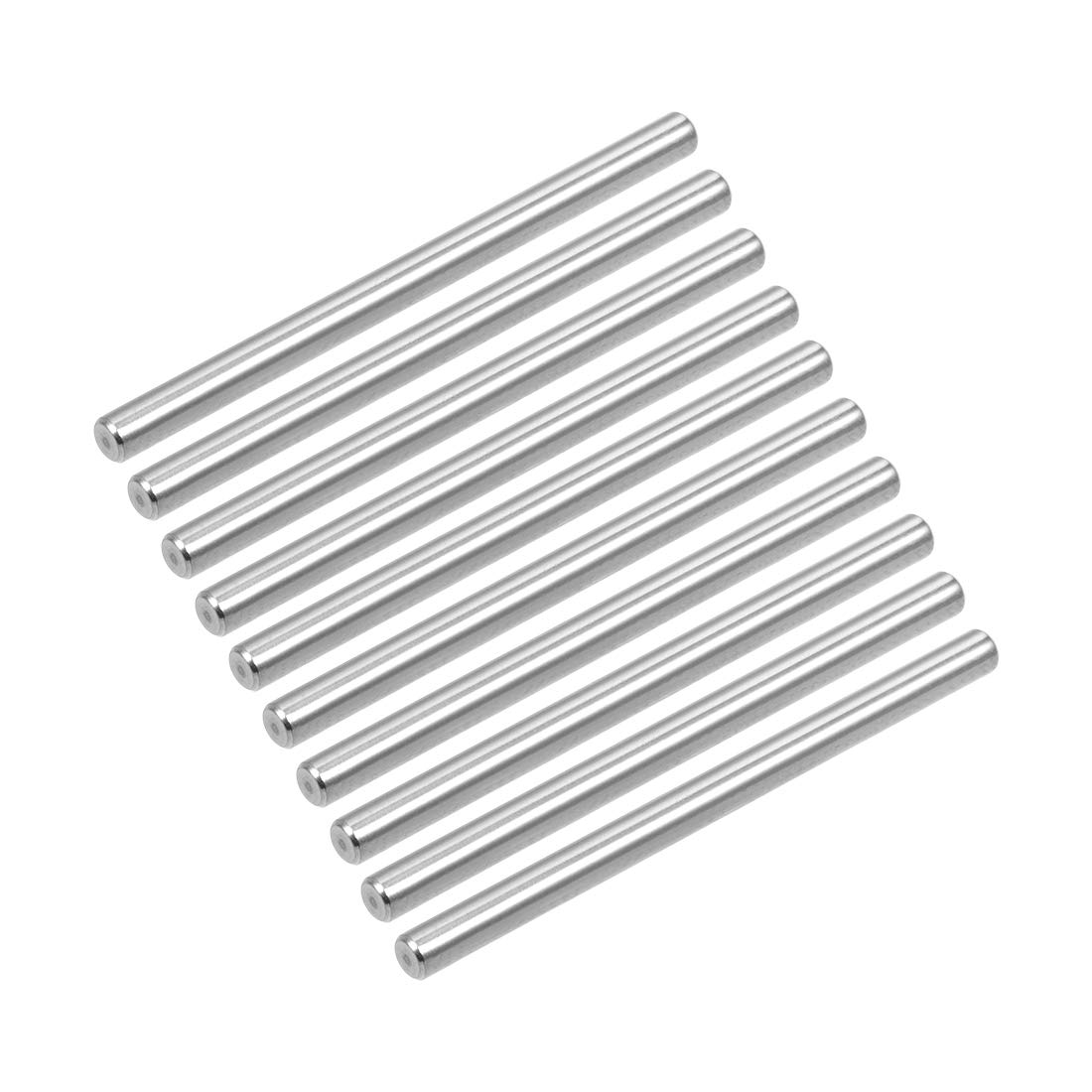 10Pcs 4mm x 50mm Dowel Pin 304 Stainless Steel Shelf Support Pin Fasten