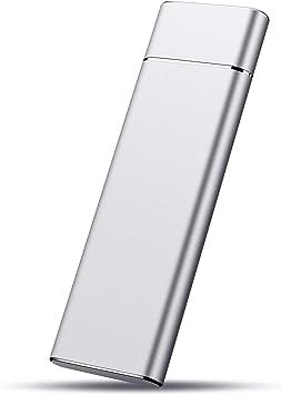 1To,Noir Disque Dur Externe 1to Ps4 Desktop Xbox One Mac Laptop MacBook Disque Dur Externe USB3.1 Type-C Portable pour PC Chromebook Xbox 360