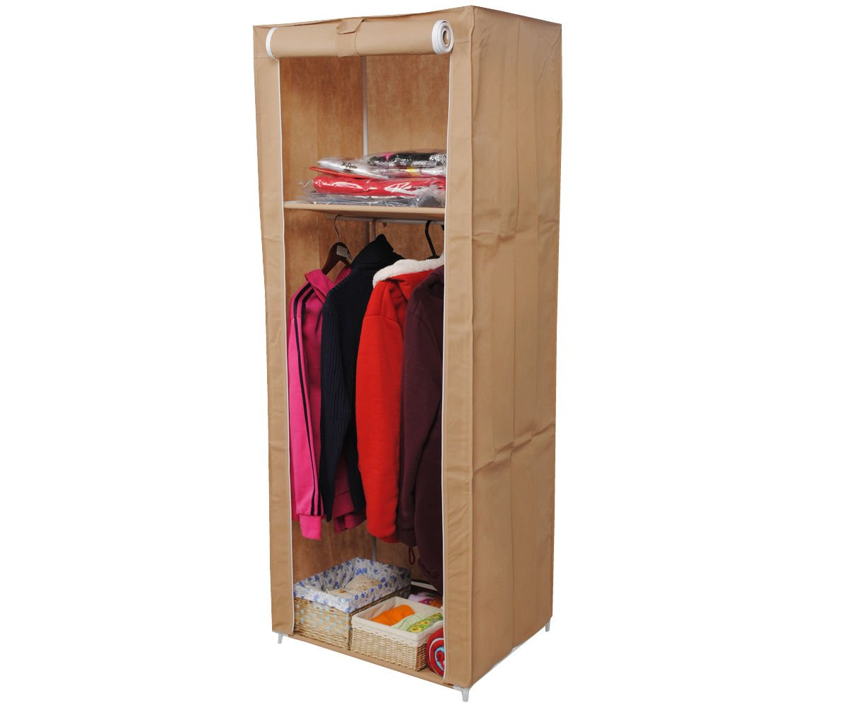 Generic O-8-O-0954-O Rack s Organizer Cloth zer Clo Space Saving ving Or Portable Wardrobe hes Spa Rack storage Organiz Organizer Clothes HX-US5-16Mar28-3089