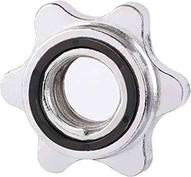 Barbell Bar Clips Kurzhantel-Spinlock-Collar Spin Lock Schraube Check Nut
