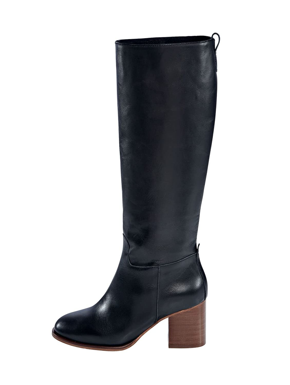 Copo de nieve Damen Damen nieve Stiefel, Blockabsatz 18c247