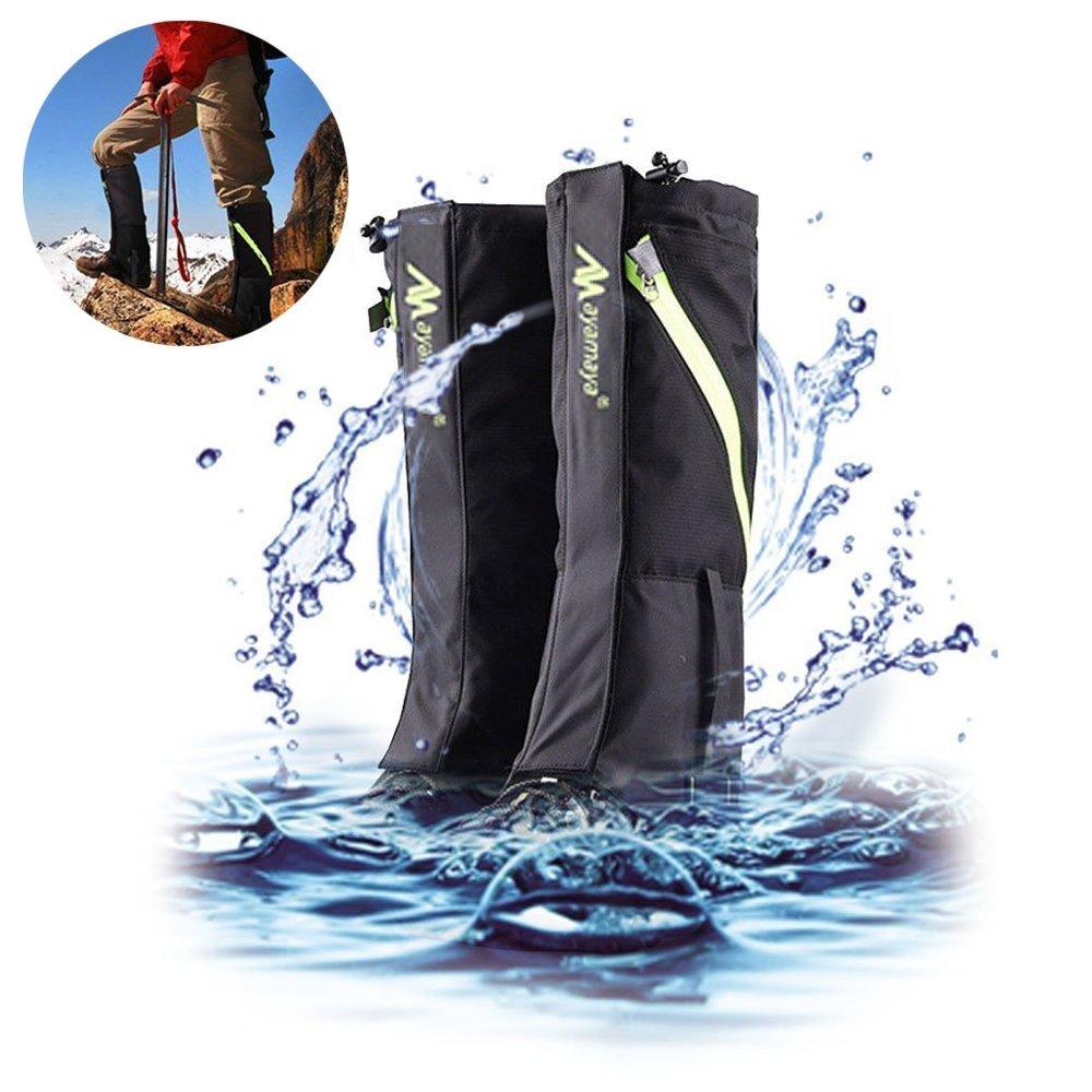 AYAMAYA Hiking Gaiters Waterproof Boot Snow Gaitors, Hiking Equipment Breathable High Boots Shoes Cover Leg Protection Guard, Anti Dust/Mud/Debris/Rock/Bush Snow Gaiters For Hunting by AYAMAYA