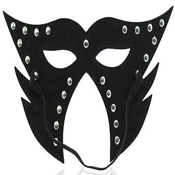 DRSMDR Máscara de Piel para la Cara Completa, Capucha para Jugar al Disfraz de Adultos
