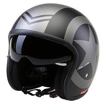 Casco de la Motocicleta Jet Casco Cascos Abiertos VIPER RS-V06 Casco de Moto Con