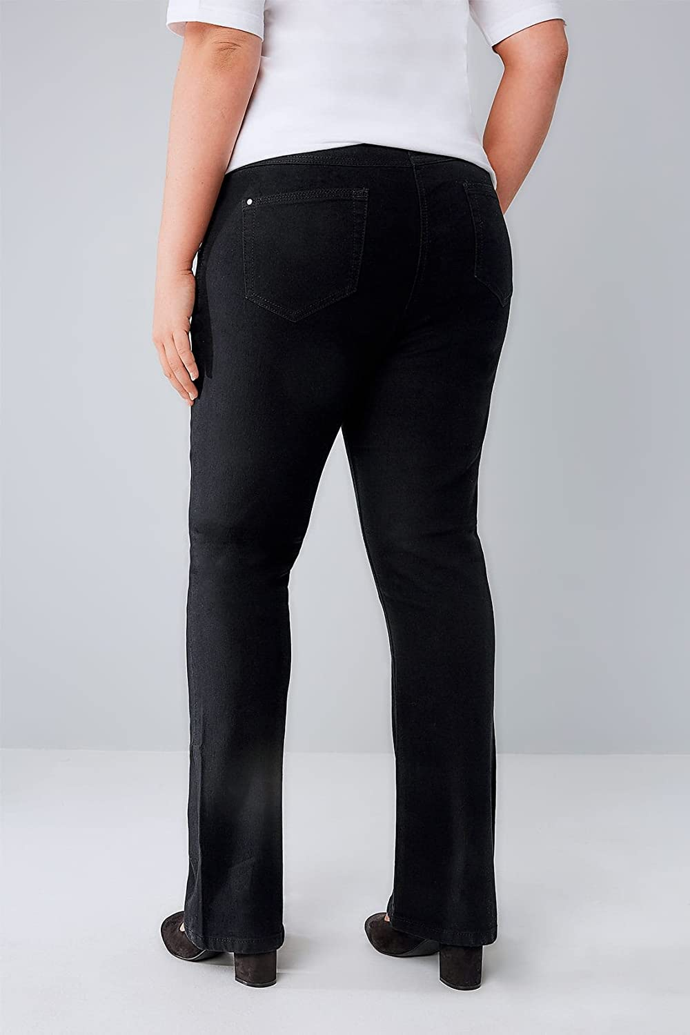 Yours Clothing Womens Bootcut ISLA Jeans
