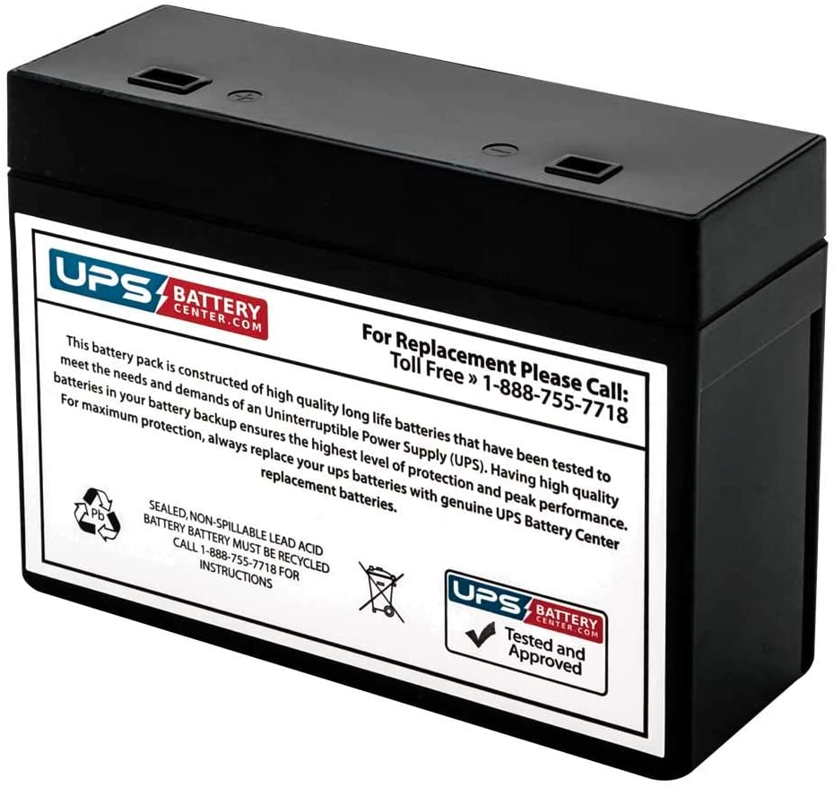 by UPSBatteryCenter RBC10 APC Back-UPS Office 280VA BF280 Compatible Replacement Battery