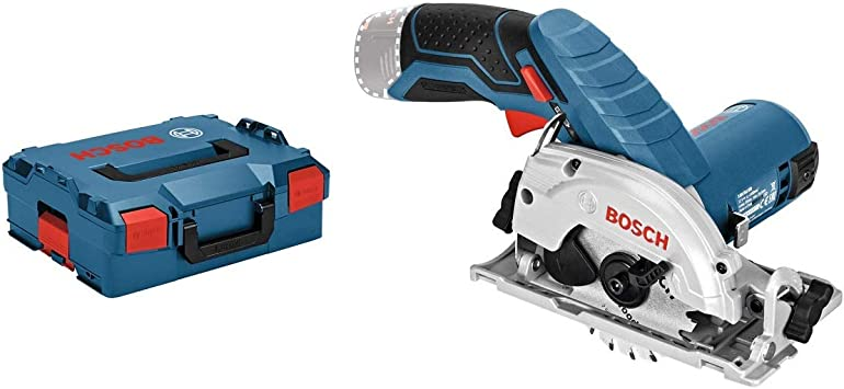 Bosch Professional 06016a1002 12 26 System Gks 12 V 26 Cordless Circular Saw Blade Diameter 85 Mm Excluding Batteries And Charger In L Boxx Amazon Co Uk Diy Tools