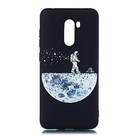MOSORIS Funda Xiaomi Pocophone F1, Carcasa Dibujo Suave ...