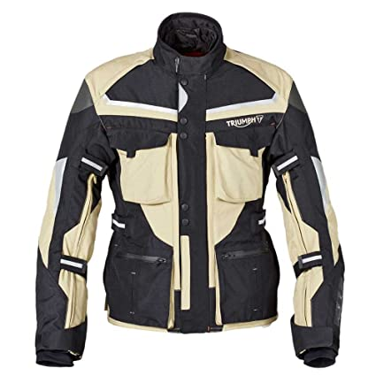 Amazon.com: Triumph Trek Jacket L Tan: Automotive