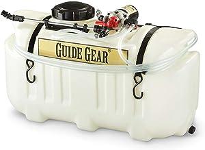 Guide Gear ATV Broadcast Spot Sprayer, 26-Gallon Tank Capacity, 2.2 GPM, 12-Volt, Battery-Powered Garden Lawn Field Sprayers