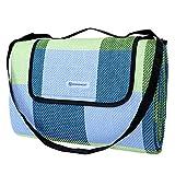 Kyпить SONGMICS Picnic Blanket Waterproof Beach Camping Outdoor Blanket Mat 77