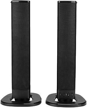 Bewinner Altavoz Bluetooth Plegable Portátil,4 Parlantes Alta Frecuencia Altavoz Soporte A2DP/AVRCP/HSP/HF/TF/RCA/USB,Estéreo Envolvente Altavoz Portátil Desmontable para Cine en Casa,Regalo: Amazon.es: Electrónica