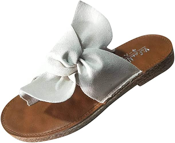 Femme éTé Tongs Chaussure BESSKY Flats Sandale Fashion DHeIYWE29b