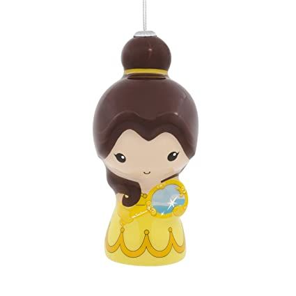 disney beauty and the beast belle decoupage christmas ornament