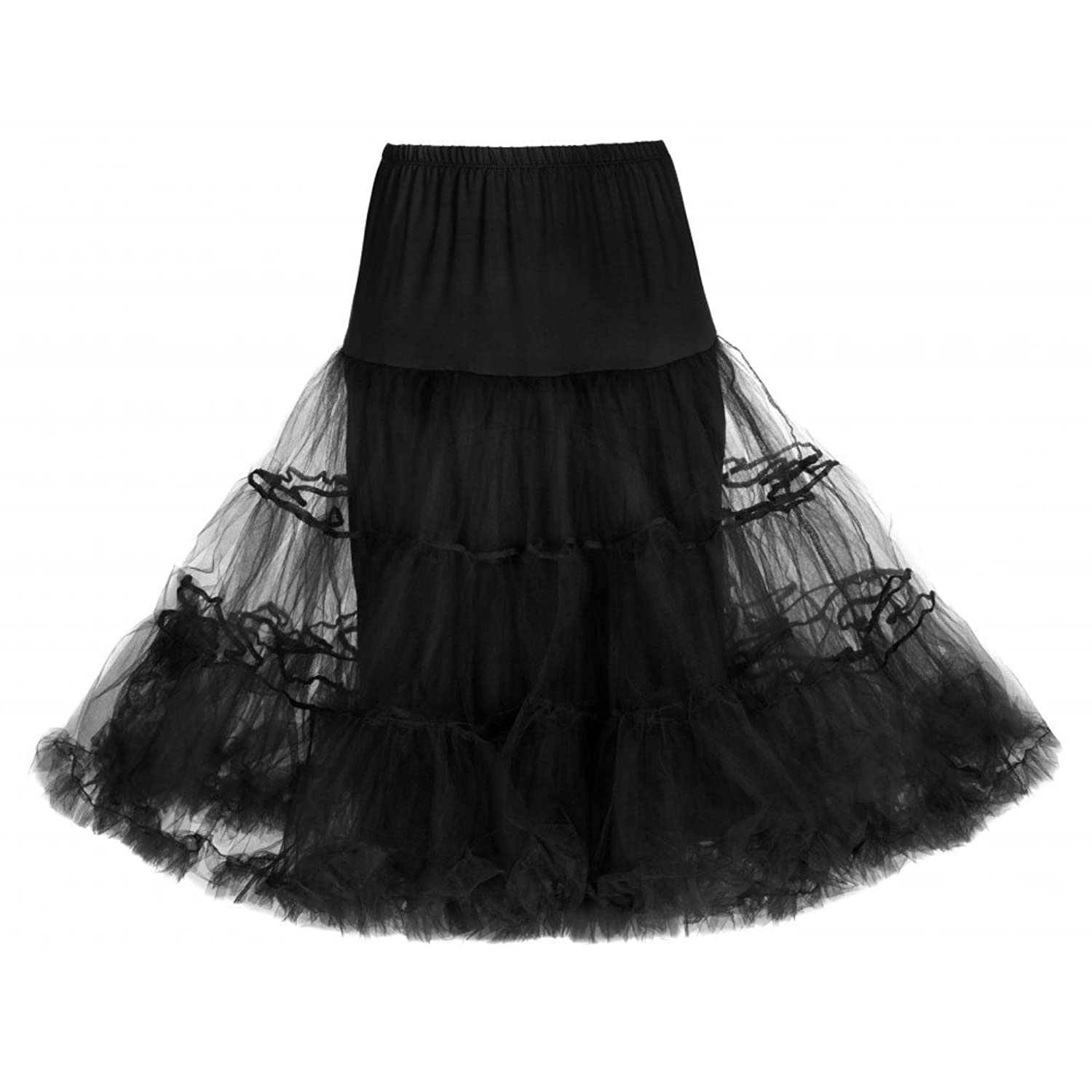 What Did Women Wear in the 1950s? Lindy Bop Classic 26 Organza Petticoat $12.00 AT vintagedancer.com