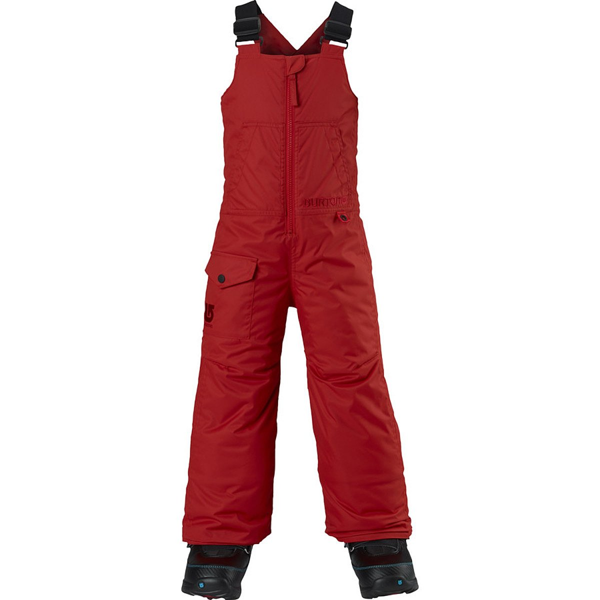 Burton Minishred Maven Insulated Bib Pant - Toddler Boys' Fang, 3T by Burton