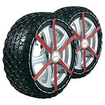 Cadenas de nieve Michelín Easy Grip talla M13, compatible con neumáticos: 215/50_R17: Amazon.es: Coche y moto