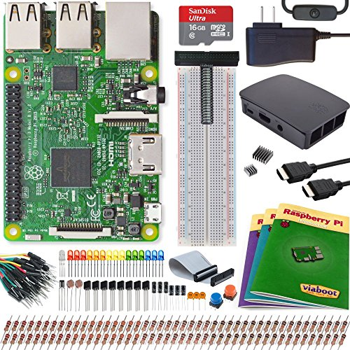 Viaboot Raspberry Pi 3 Ultimate Kit — Official Micro SD Card, Official Black/Gray Case Edition by Viaboot
