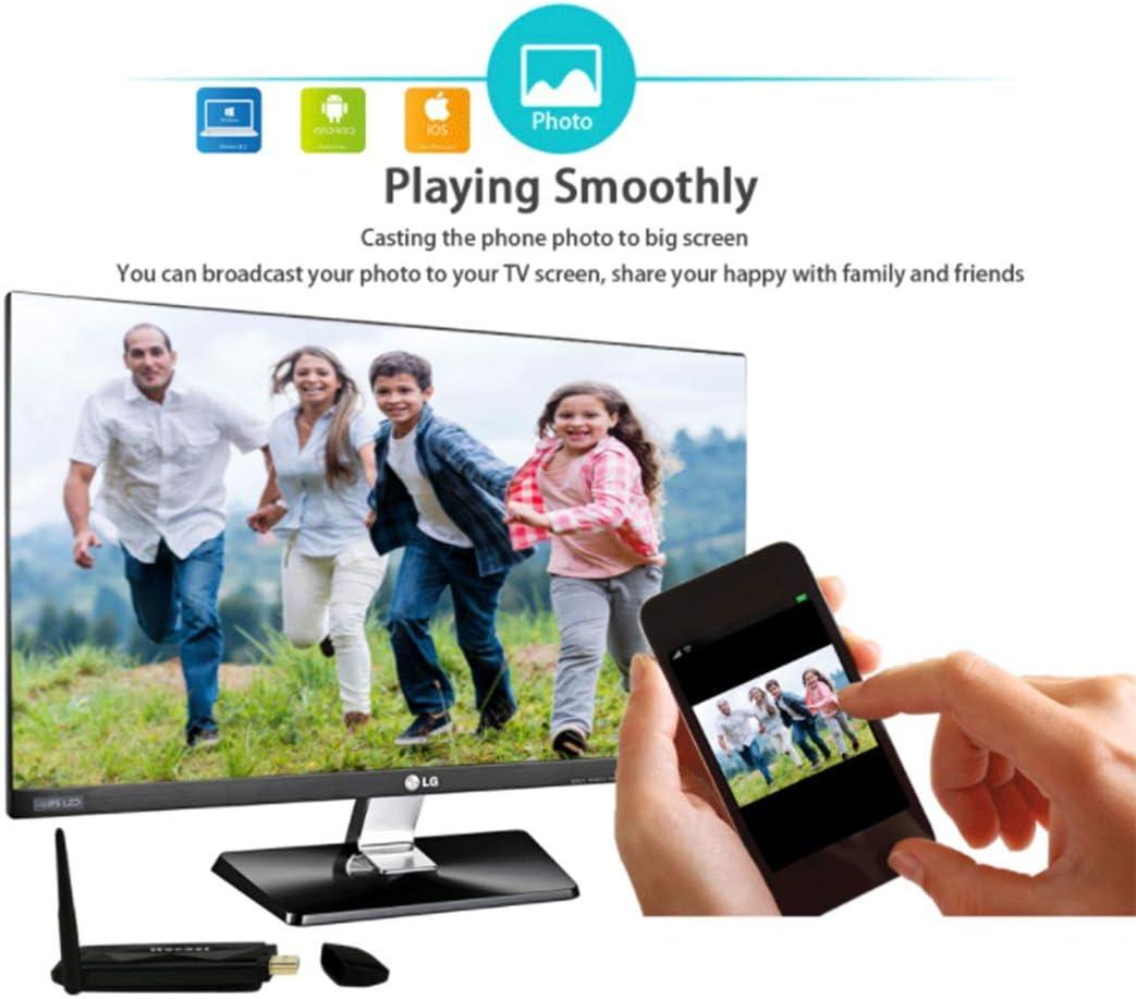 YWT WiFi Monitor Dongle 1080P Mini Display Receptor HDMI Notebook TV Teléfono Móvil Miracast DLNA Airplay para iOS/Android/Windows: Amazon.es: Hogar