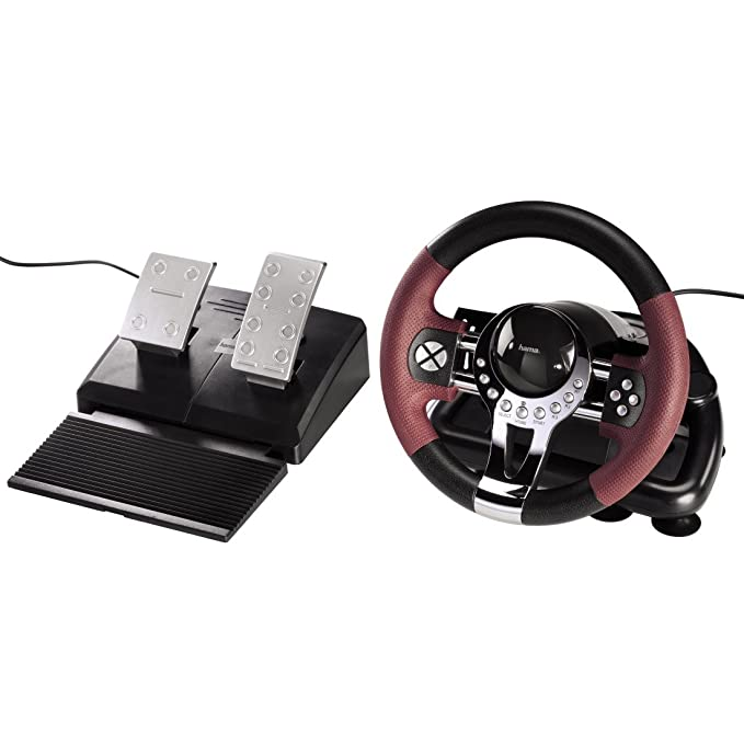 "43 opinioni per Hama 00051845 Volante ""Racing Wheel Thunder V5"" (PS3+PC)"