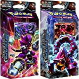 BOTH Pokemon XY Steam Siege 60-card Theme Decks - Gears Of Fire
