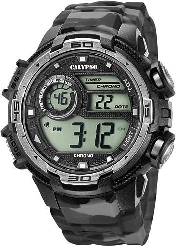 Calypso by Festina Digitale Montre Homme 8 alarmee Chrono