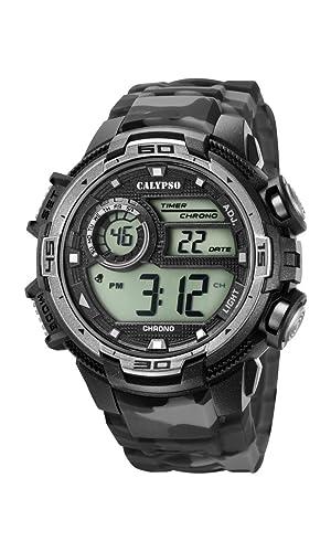 Calypso Reloj Digital para Hombre de Cuarzo con Correa en Plástico K5723/3: Calypso: Amazon.es: Relojes