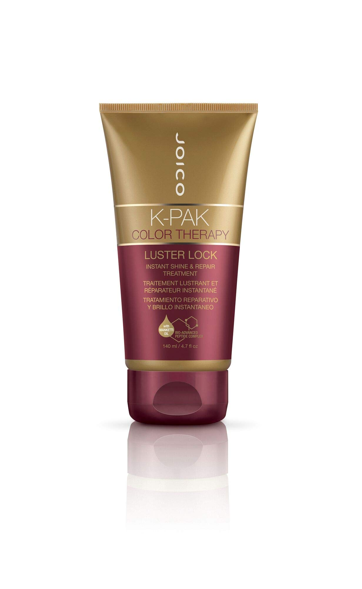 Joico K-Pak Color Therapy Luster Lock - Instant Shine and Repair Treatment (4.7 Ounce) by Joico