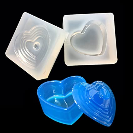 Silicone Mold Plate DIY For Resin Jewelry Making Crafts Casting Crystal Tool